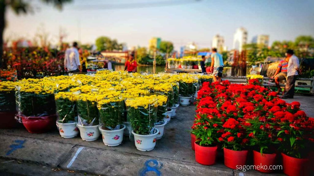 Flowers for Tet-Vietnam Holiday