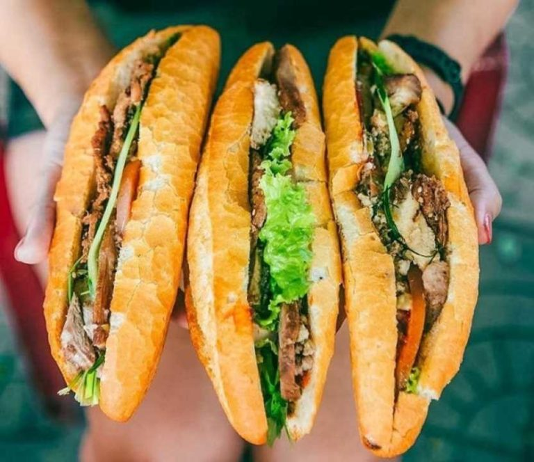 Vietnamese Baguette or Banh Mi <br> The most delicious Vietnamese street-food