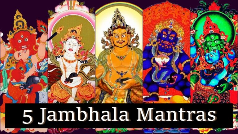 Read more about the article [108 Times] 💥Yellow Jambhala – White Jambhala – Red Jambhala – Black Jambhala – Green Jambhala💥