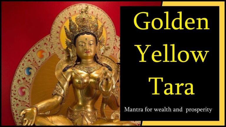 Read more about the article 💰 Golden Yellow Tara Mantra 108 Times | How To Manifest Money Fast | Law Of Attraction Success 💰