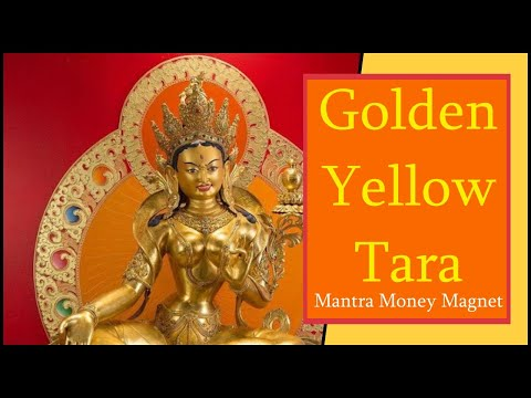 Read more about the article [1/2 Hour] 💰 Golden Yellow Tara Mantra Norterma | Manifest Money Fast | Mantra Money Magnet 💰