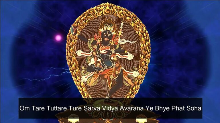 Read more about the article [1 Hour] 💥 The Wrathful Black Tara Mantra |  Powerful Mantra Break Black Magic Spells 💥