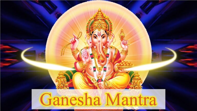 Read more about the article ✨The Lord Ganesha Mantra 108 Times | Om Gam Ganapataye Namaha | The God Of Beginnings✨