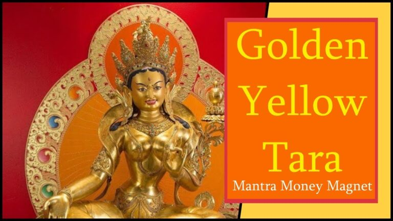 Read more about the article [1 Hour] 💰 Golden Yellow Tara Mantra Norterma | Manifest Money Fast | Mantra Money Magnet 💰
