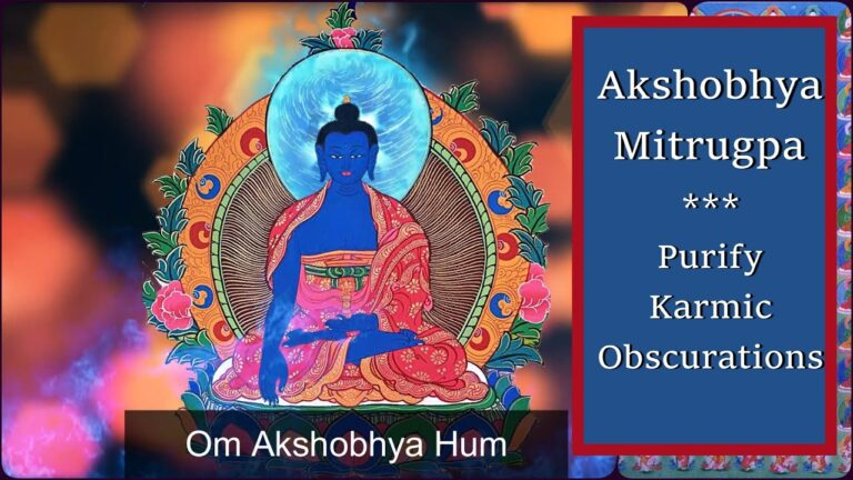Read more about the article [1 Hour]🌿 Akshobhya Mantra: Om Akshobhya Hum | Purify Karmic Obscurations & Karma Cleansing 🌿