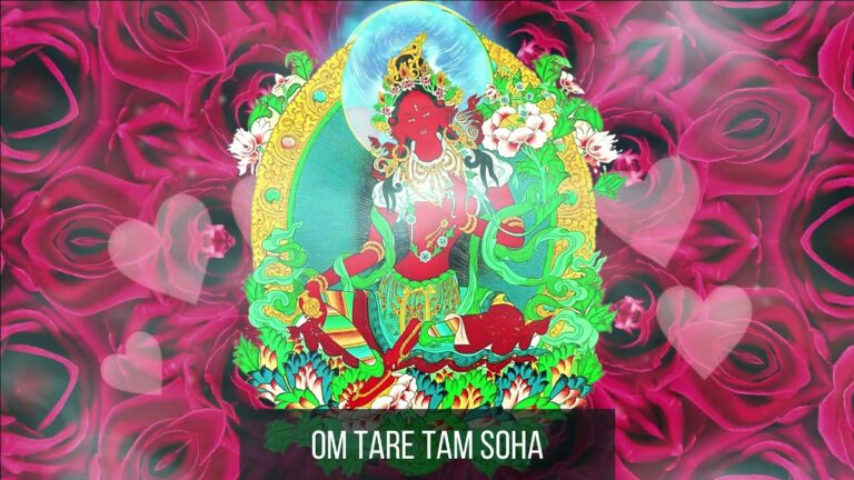 Read more about the article [1 Hour] 💕 Red Tara Mantra | Om Tare Tam Soha Mantra | True Love Manifesting Mantra 💕