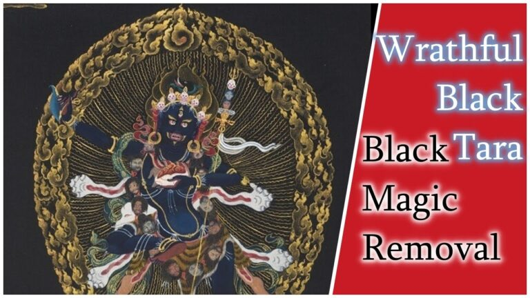 Read more about the article [1/2 Hour] 💫 The Wrathful Black Tara Mantra | Troma Nagma | Black Magic Removal Mantra 💫