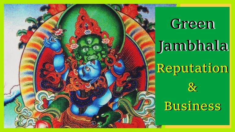 Read more about the article [108 Times] 🌟Green Jambhala Mantra / Green Dzambhala Mantra | Om Dzambhala Dzalen Dzaye Svaha 🌟