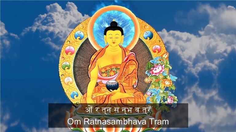 Read more about the article [1 Hour]🌏 Ratnasambhava Mantra | The Wisdom Of Equality | 5 Dhyani Buddhas 🌏