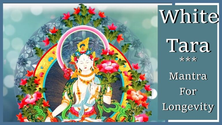 Read more about the article 💊 Chanting White Tara Mantra | Cintachakra Mantra | Mantra For Longevity🤍