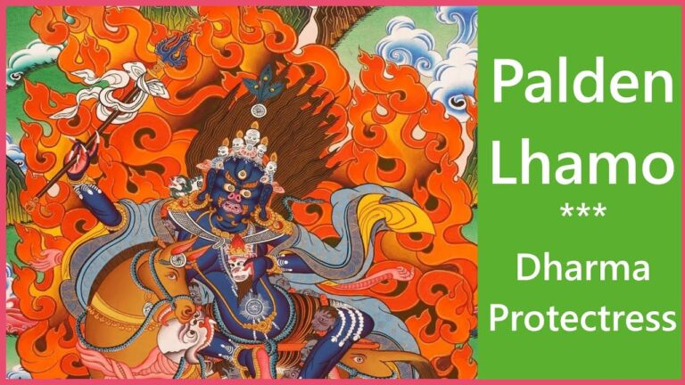 Read more about the article 💥 Palden Lhamo Mantra: Enlightened Dharma Protectress | 1 of 8 dharmapala💥
