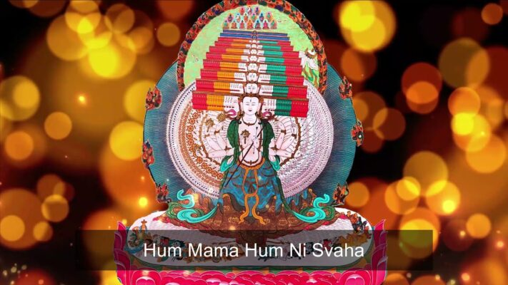 Read more about the article [🙏 Hour]🌿 Hum Mama Hum Ni Svaha   Usnisa Sitatapatra Mantra: The Great White Canopy💊