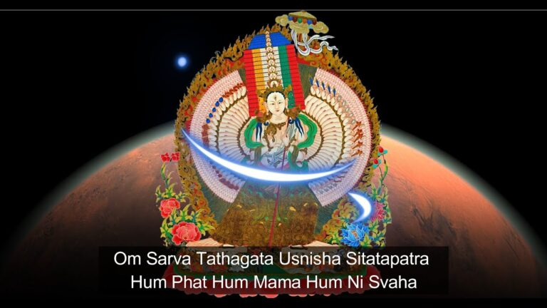 Read more about the article [🙏 1 Hour]🌿 The Great White Canopy Sheetatapatra | Usnisa Sitatapatra Mantra : Divine Feminine💊